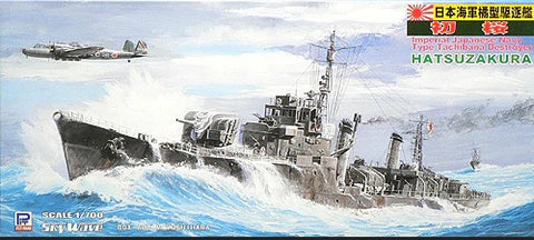 Pit-Road W78 - Hatsuzakura Imperial Japanese Navy Destroyer - 1:700