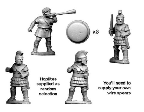 Ancients RFA022 - Greek Hoplite Command