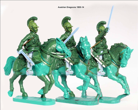 Perry - Austrian 'German' Cavalry (Cuirassiers, Dragoons, Chevauxlegers) 1798-1815 - 28mm