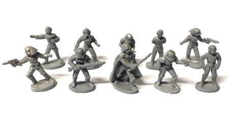 Star Wars - 40302 - Imperial Forces Complete Set (West End Game) - 25mm