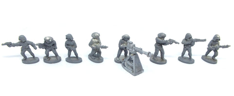 Star Wars - 40313 - Imperial Troopers - complete set (West End Game) - 25mm