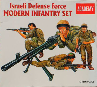 Academy - Israeli Defence Force Modern Infantry Set - 1:35