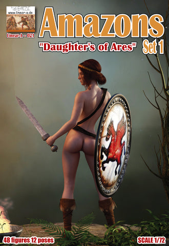 "Linear-A 021 - Amazons ""Daughter's of Ares"" set 1 - 1:72"