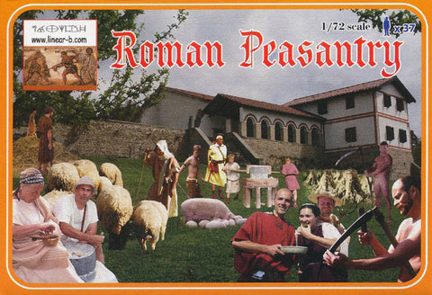 Linear-A LA077 - Roman Peasantry - 1:72