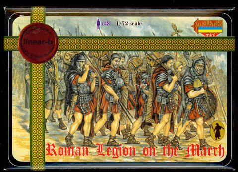 Linear-A LA007 - Roman Legion on the March - 1:72