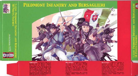 Lucky Toys - Piedmont Infantry and Bersaglieri - TL0006