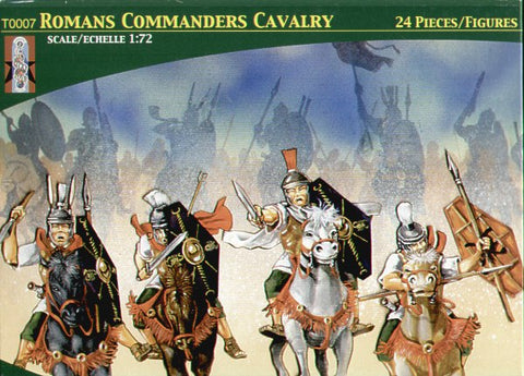 Lucky Toys - Mounted Roman Commanders - T0007
