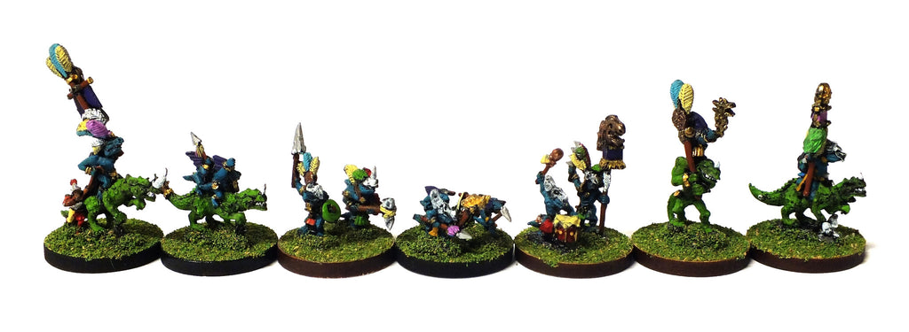 Warmaster - Lizardmen Characters - 10mm (Type 1)