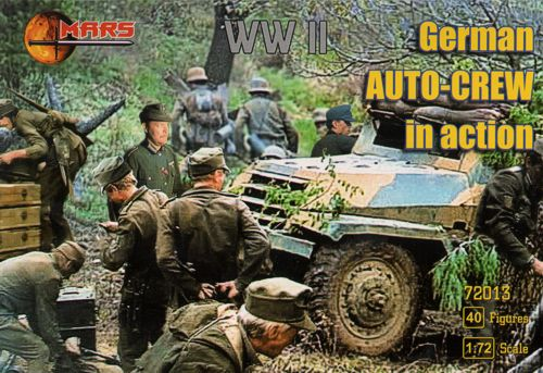 Mars 72013 - German Auto-Crew in Action (WWII) - 1:72