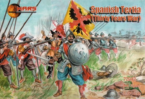 Mars - Spanish Tertia (Thirty Years War) - 1:72 - 72042