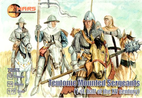 Mars - Teutonic Mounted Sergeants (1st.half of the XV century) - 1:72