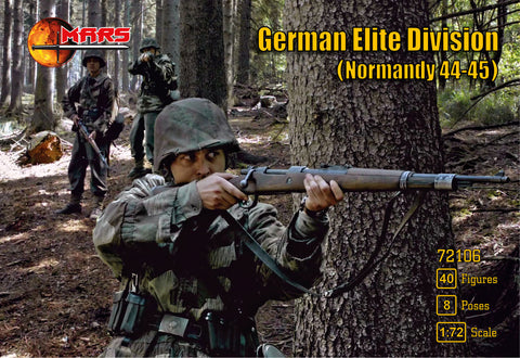 Mars -  German elite division (Normandy 44-45) - 1:72