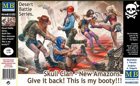 Master Box 35202 - Skull Clan - New Amazons, Give it Back! - 1:35