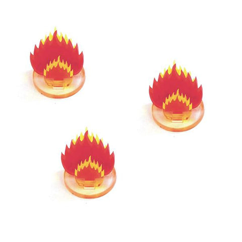 "4GROUND - 1"" Fireball Acrylic Markers (3) - MG-TAM-129"