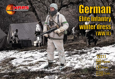 Mars -  German elite infantry winter dress (WWII) - 1:72