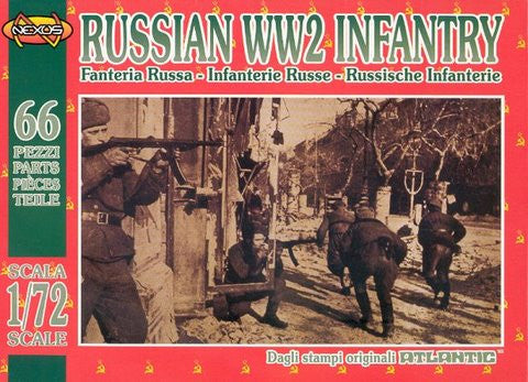 Atlantic (Nexus) - Russian WW2 Infantry - 1:72