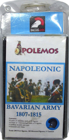 Baccus 6mm - Polemos - Napoleonic Bavarian Army 1807-1815 Army Pack
