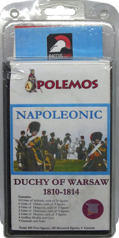 Baccus 6mm - Polemos - Napoleonic Duchy of Warsaw 1810-1814 Army Pack