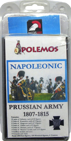 Baccus 6mm - Polemos - Napoleonic Prussian Army 1807-1815 Army Pack