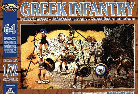 Atlantic (Nexus) - Greek infantry - 1:72