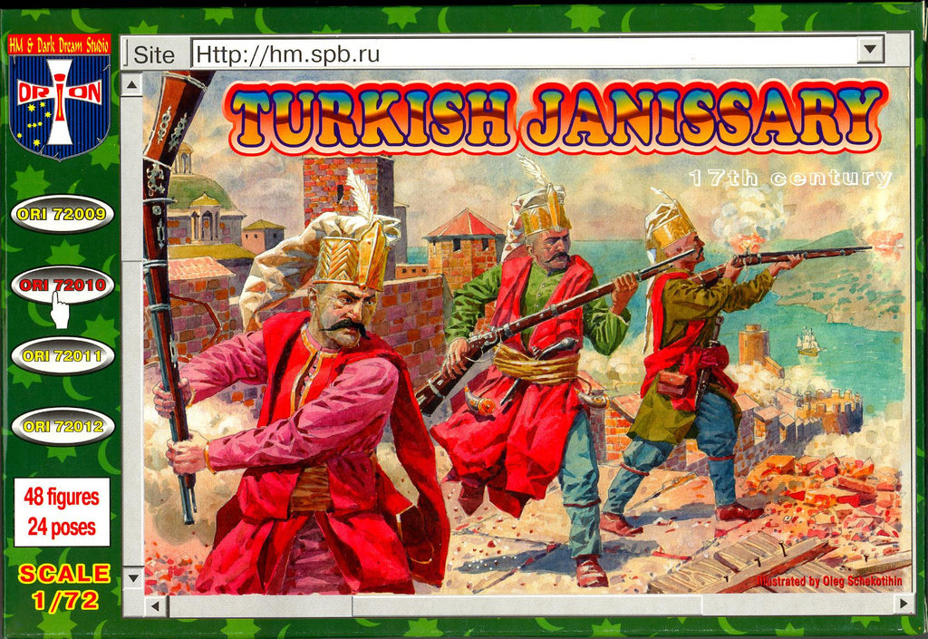 Orion 72010 - Turkish Janissary 17th century - 1:72