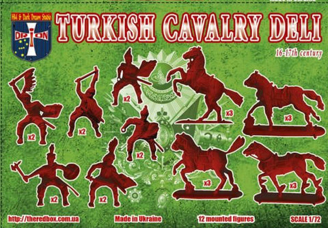 Orion 72055 - Turkish Cavalry (Deli) XVI-XVII c. - 1:72