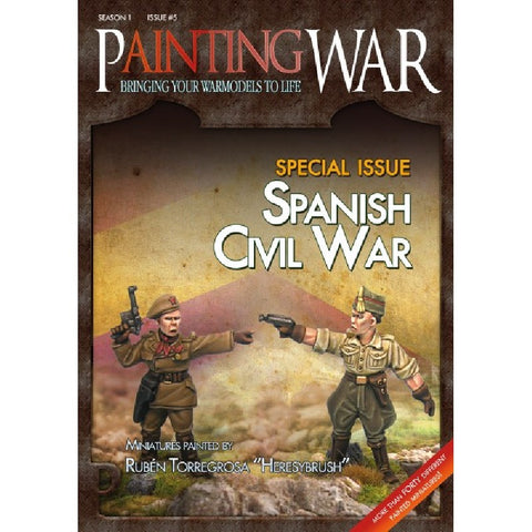 Designs & Edits WxW Co. - Painting War - Spanish Civil War
