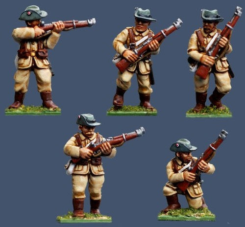 Pulp Figures - German Colonial Rifles - 28mm - PGS 15