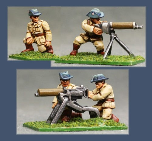 Pulp Figures - German Colonial Maxim Guns - PGS 17