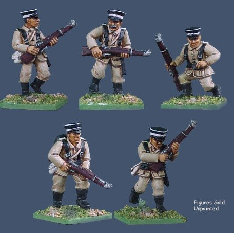 Pulp Figures - German Seebataillon Troops 2 - PGS 04