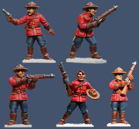 Pulp Figures - The Scarlet Patrol - PYP05