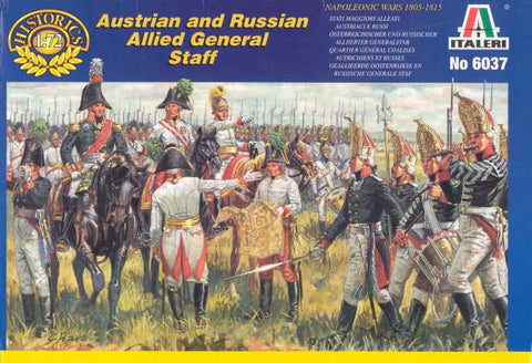 Italeri - Austrian and Russian Allied General staff - 1:72