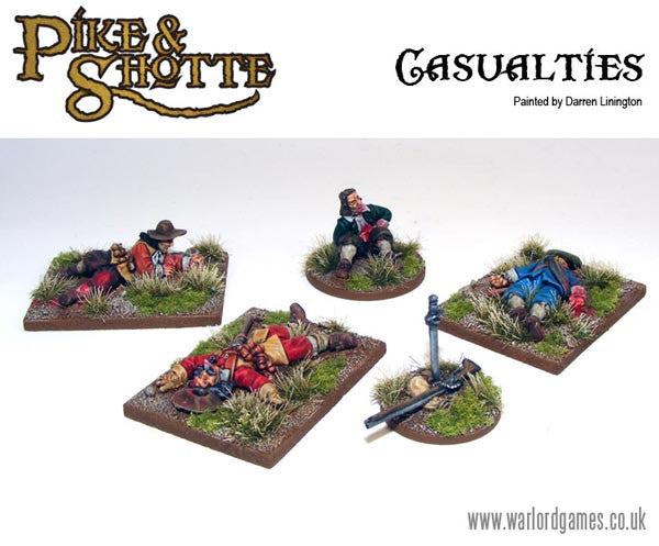 Warlord Games - Pike & Shotte - Casualities - 28mm