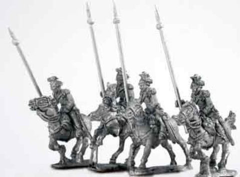 Mirliton - Austrian Ulans charging, lance forward (italian war of independence) - 15mm