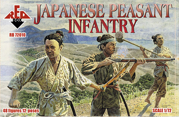 Red Box - Japanese peasant infantry - 1:72