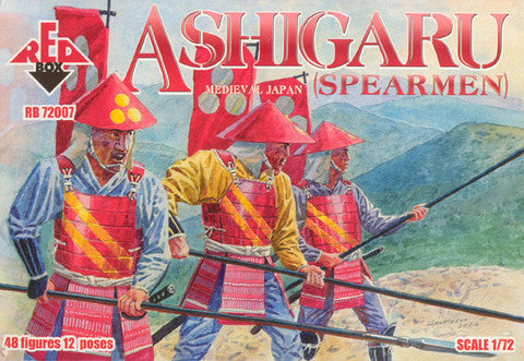 Red Box - Ashigaru Medieval Japan (spearmen) - 1:72
