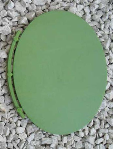 Renedra - BASE19 (RNOVAL) - Oval wargaming bases 115mm x 88mm (4)