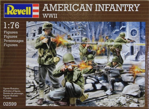 Revell - American infantry (WWII) - 1:76