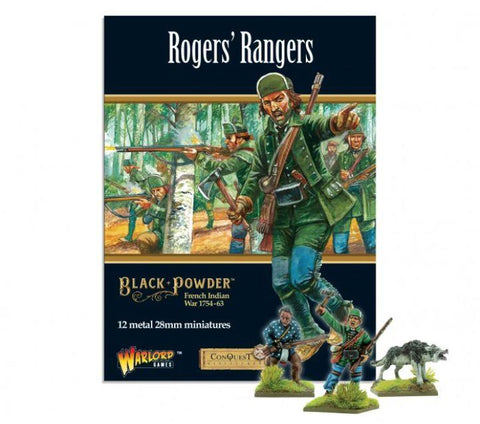 Black Powder - 302213805 - FIW: Roger's Rangers - 28mm