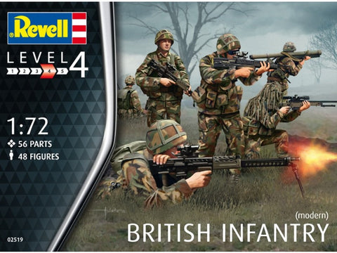 Revell - British Infantry (Modern) - 1:72 - RV02519