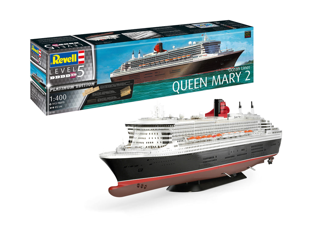 Revell 5199 - Queen Mary 2 Platinum Edition - 1:400