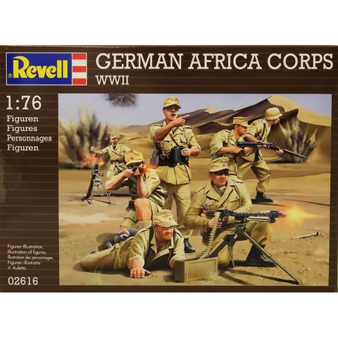 Revell - German Africa Corps WWII