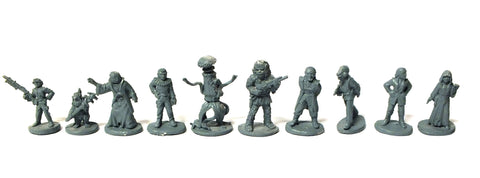Star Wars - 40308 - Rebel Characters complete set (West End Game) - 25mm