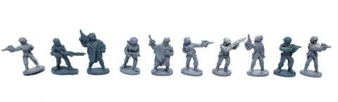 Star Wars - 40312 - Rebel Troopers - complete set (West End Game) - 25mm