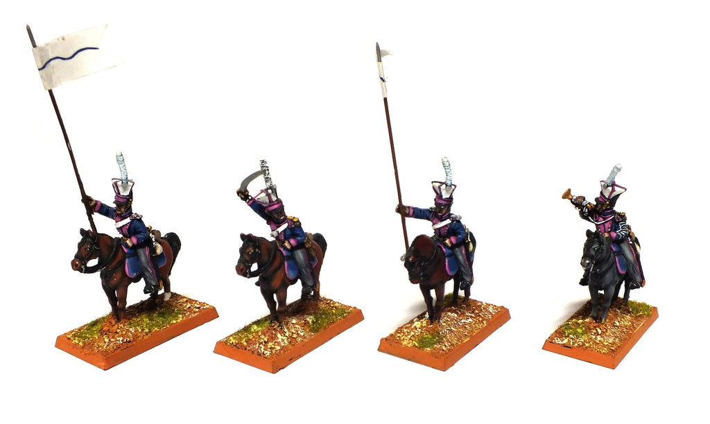 Russian Uhlans (Napoleonic Wars) - PAINTED - 28mm