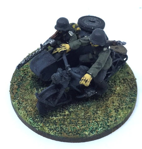 Bolt Action - German sidecar (WWII) - 28mm - PAINTED