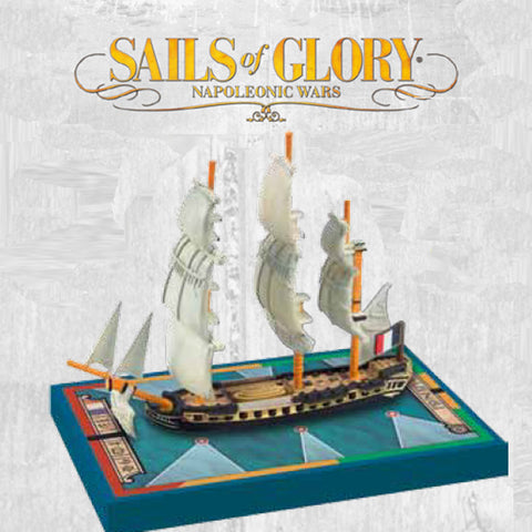 Sails of Glory - Napoleonic Wars: Proserpine 1785/Dryade 1783 - SGN105B
