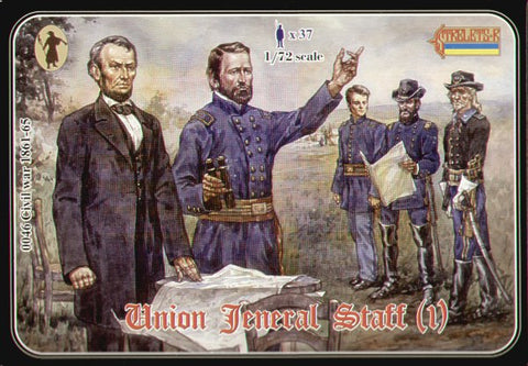 Strelets - 0046 - Union General Staff (ACW/American Civil War) - 1:72