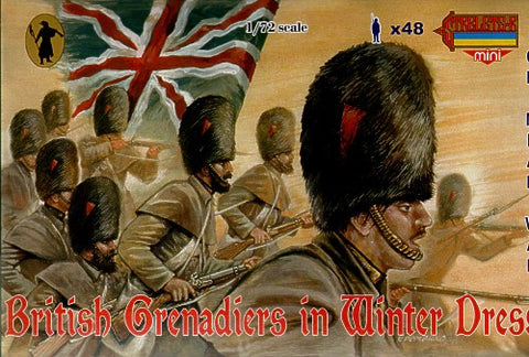 Strelets - British grenadiers in winter dress - 1:72