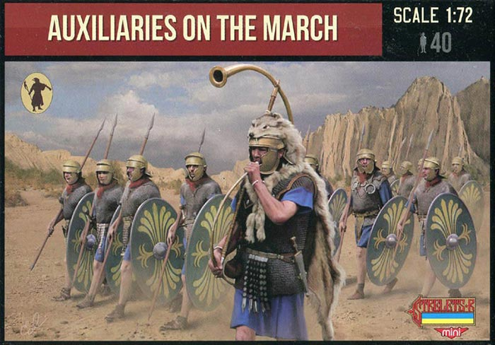 Strelets M125 - Auxiliaries on the march - 1:72
